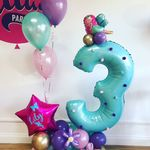 Fairy Deluxe Number Balloon Display